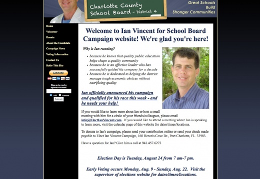 Ian Vincent Charlotte County School Board District 4