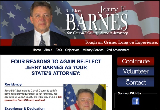 Jerry F. Barnes for Carroll County State Attorney
