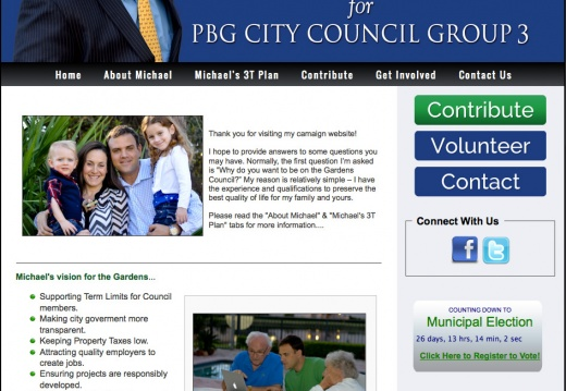 Michael J Peragine for Palm Beach Gardens City Council - Group 3