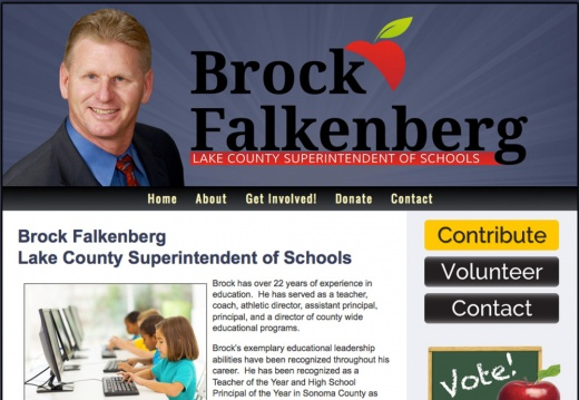 Brock Falkenberg Lake County Superintendent of Schools