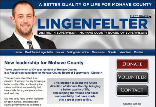 Travis Lingenfelter, for Mohave County Board of Supervisors - District 4