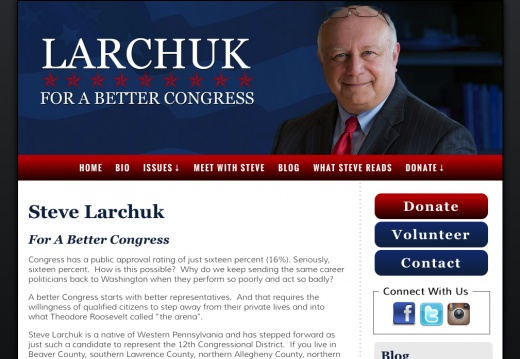 Steve Larchuk For A Better Congress