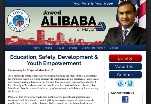 Jawed Alibaba for Mayor