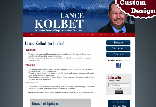 Lance Kobert for Idaho State House of Representatives