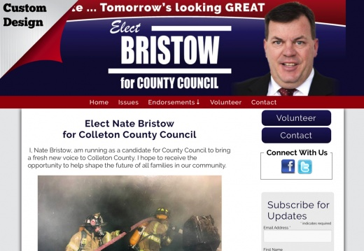 Nate Bristow for Colleton County Council