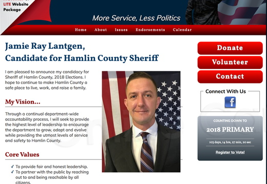Lantgen for Hamlin County Sheriff