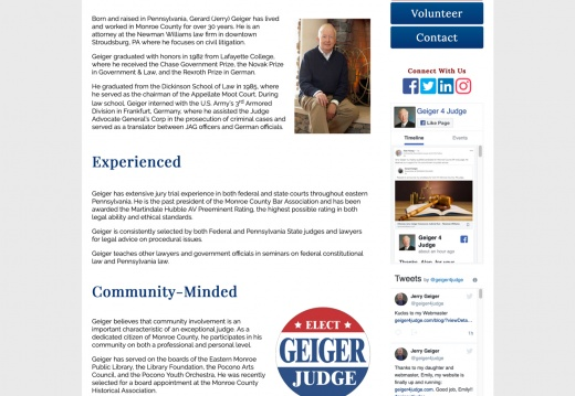 Geiger For Judge