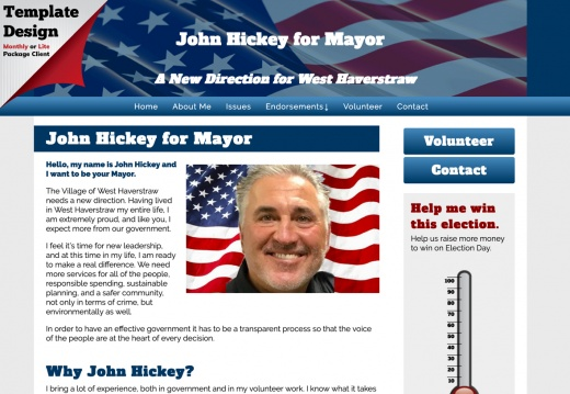 John Hickey for Mayor
