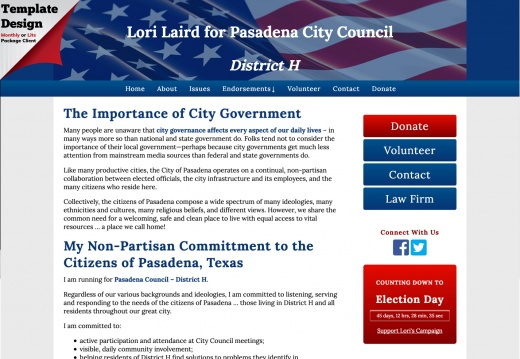 Lori Laird for Pasadena City Council