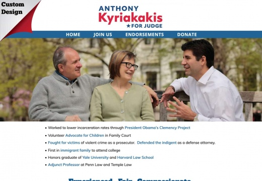 Anthony Kyriakakis for Judge