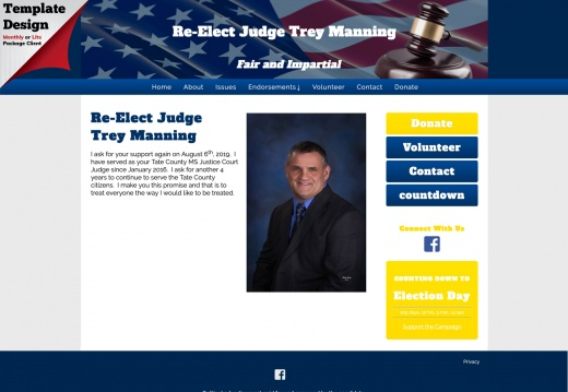 Re-Elect Judge Trey Manning