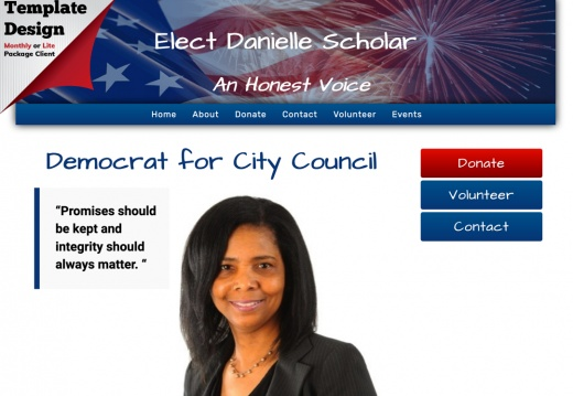 Danielle Scholar for Mount Vernon City Council