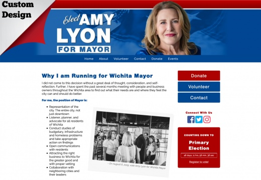 Amy Lyon for Wichita Mayor