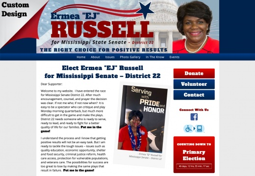 Ermea Russell  for Mississippi Senate – District 22
