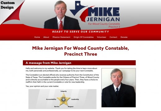 Mike Jernigan For Wood County Constable, Precinct Three