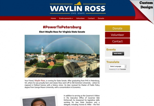 Waylin Ross for Virginia State Senate
