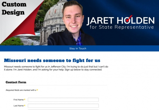Jarett Holdern for Missouri State Representative