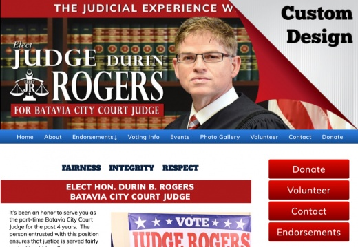 Durin B. Rogers for Batavia City Court Judge