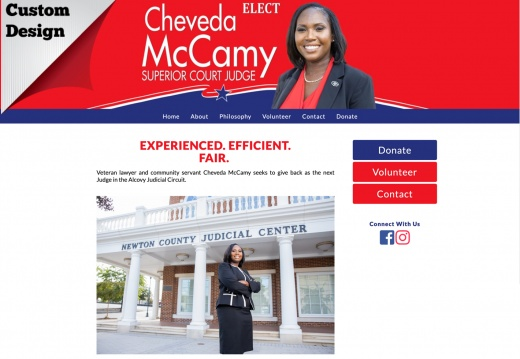 Cheveda McCamy for Superior Court Judge