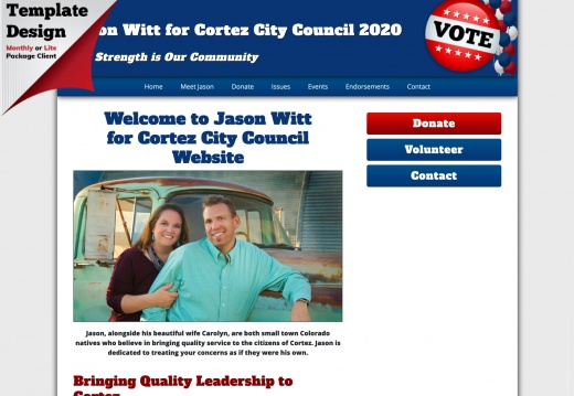 Jason Witt for Cortez City Council