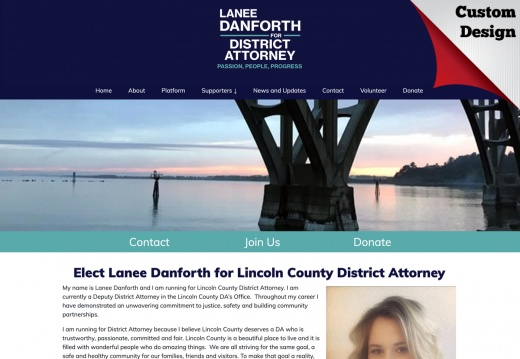 Lanee Danforth for Lincoln County District Attorney