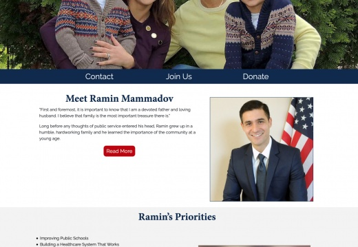 Ramin Mammadov for Congress