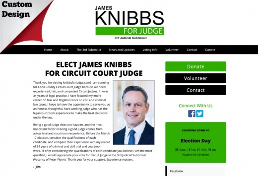 James Knibbs for Circuit Court Judge