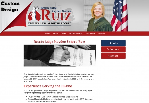 Retain Judge Kaydee Snipes Ruiz